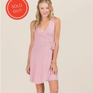 Francesca's Wrap Tie Dress